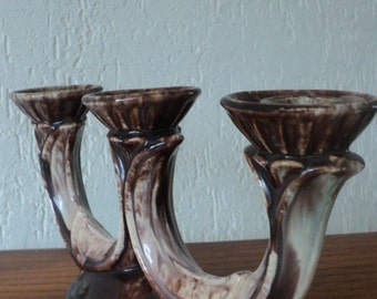 Ceramic 1950s candle holder  SALE