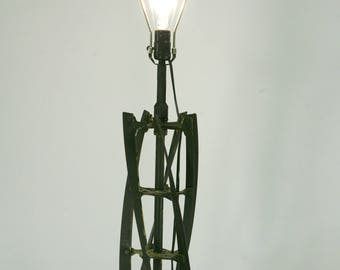 Push Mower Table Lamp