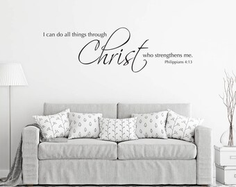 Popular Items For Scripture Wall Decal