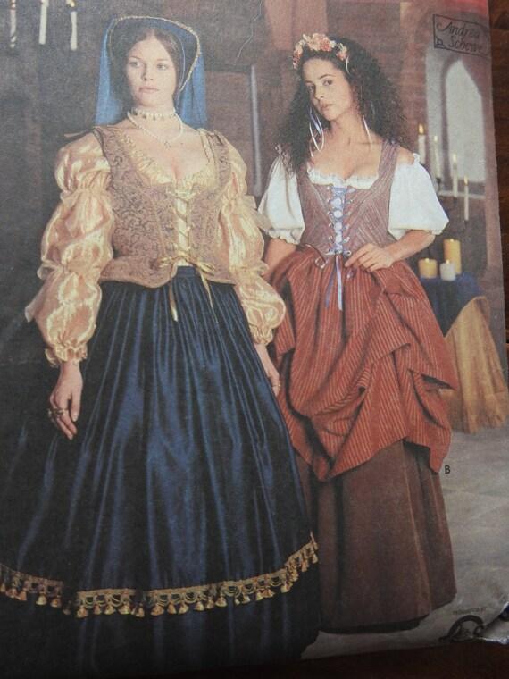 Einfachheit 8715 Kostüme Damen Renaissance Schnittmuster