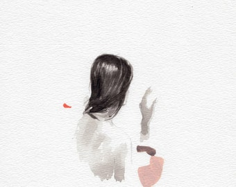 So Long .  giclee art print available in all sizes