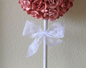 Paper Flower Topiary Centerpiece -