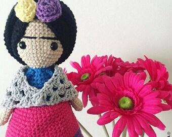 Frida Amigurumi Patron : Frida amigurumi etsy