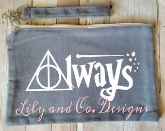 Always Harry Potter Inspired Makeup Bag