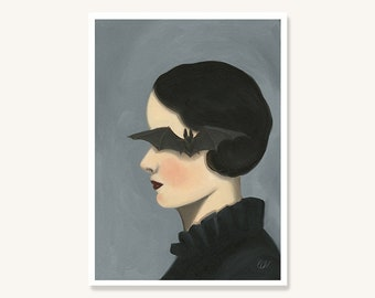 Sincerity - Archival mini print by Amy Earles