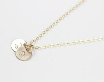 Zodiac Necklace,14k Gold Filled, Aries, Taurus, Gemini, Cancer, Leo, Virgo, Libra, Scorpio, Sagittarius, Capricorn, Aquarius