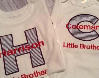 Sibling Shirt, Big Brother, Little Brother, Big Sister, Little Sister,