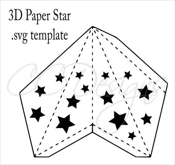 DIY Paper Lanterns, 3D Paper Stars, Baby Shower Decor
