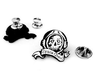 """Space Ghoul Enamel Pin - 1"""" (2.54 cm)"""