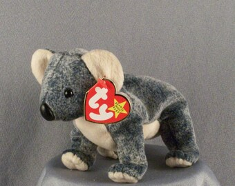 "Ty Beanie Babies Collection // Koala Bear // ""Eucalyptus"" // Original Beanie Baby // Soft Flexible Body // Adorable Face"