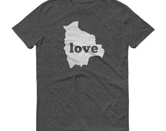 Bolivia, Bolivian Textiles, Bolivia Shirt, Bolivia T Shirt, Bolivia TShirt, Bolivia Map, Bolivian Gifts, Made in Bolivia, Bolivia Love Shirt