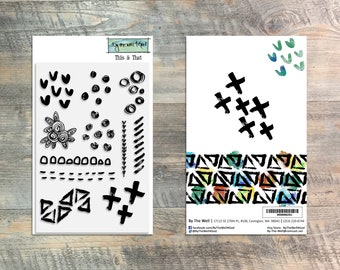 This & That Stamp Set - 11 Piece Stamp Set - ByTheWell4God