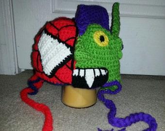 Spiderman/ Green Goblin Hat