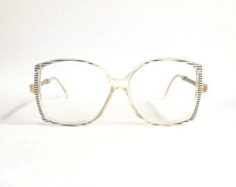 Deadstock vintage 1980's Pierre Cardin CP 800 - 1 Glasses. Unique Rare Pierre Cardin Oversize Frame .Made in France.