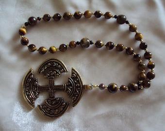 Tiger-eye Prayer Beads
