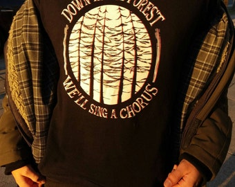 Down in the forest t-shirt