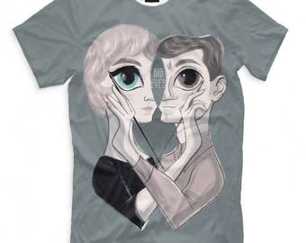 Big Eyes Art T-Shirt All sizes