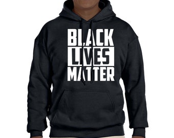 2XL 3XL Sizes Black Lives Matter Hooded Sweatshirt