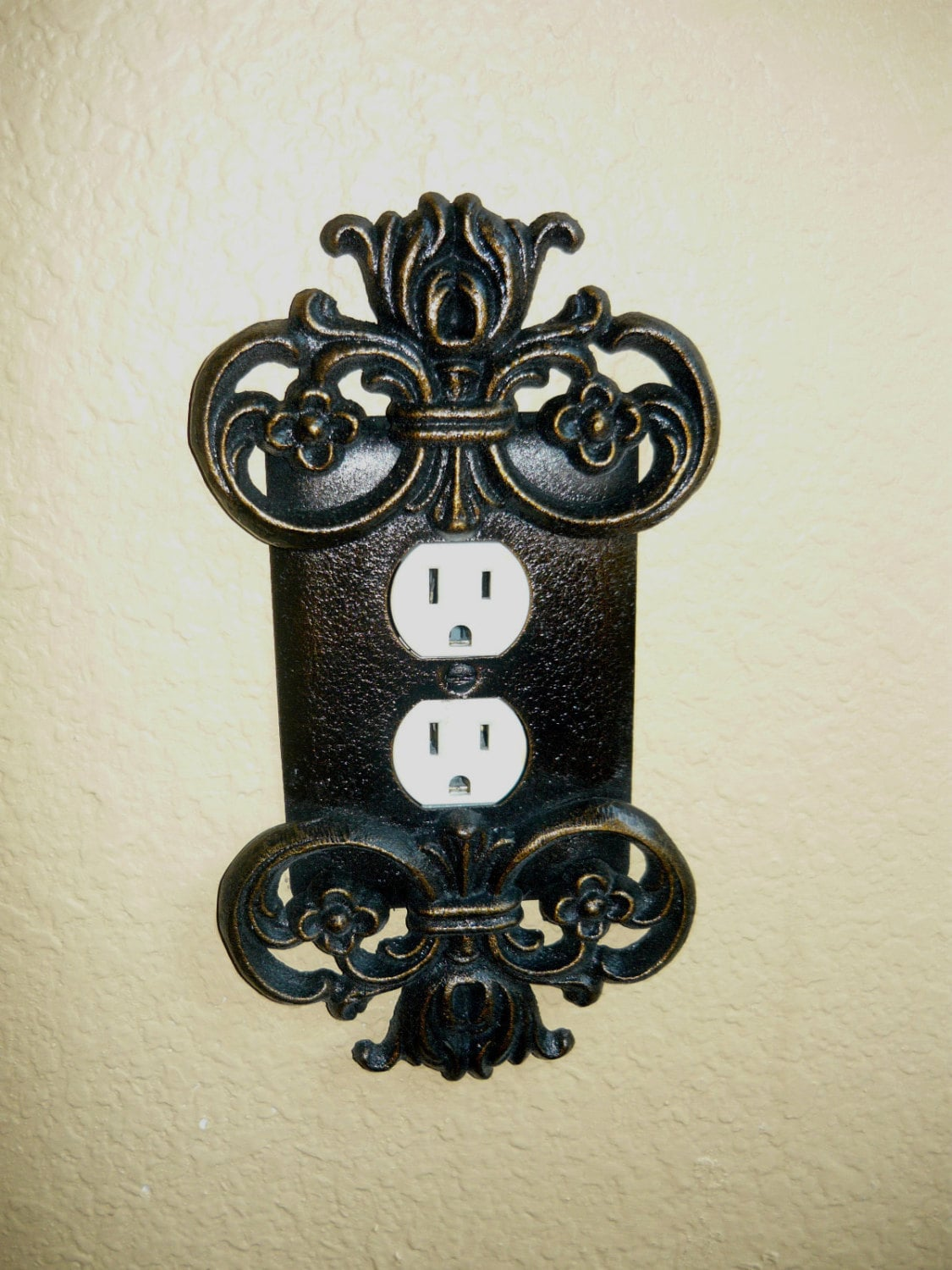 Metal Switch Plates Outlet Covers Alluring Outlet Cover Outlet Plate Switch Plate Old World Review