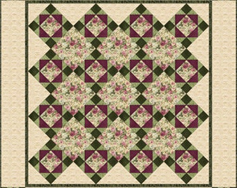 Rose Cottage Quilt Pattern