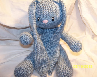 Floppy crochet bunny rabbit any color you want