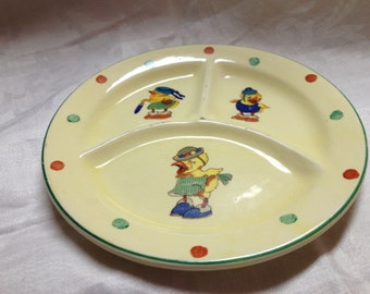 Vintage Childs Plate CP co 1035