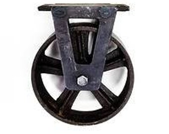Wheel steel industrial hardware
