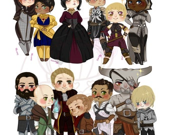 Dragon age Inquistion Stickers