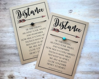 Distance Bracelet | Long Distance Friendship Bracelet