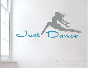 Vinyl Dancing Dancer Just Dance Wall Decal SP-103