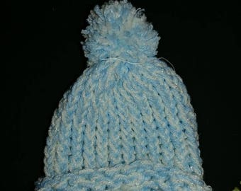 Warm and Comfy Hand-Knitted Hats For Fall/Winter (Pom Optional)