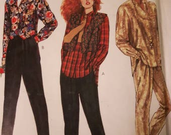 McCall's 2250, Misses' Shirt, Vest, and Pants Sewing Pattern