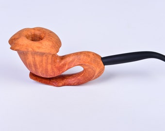 Exclusive smoking pipe from Algerian briar
