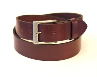 Milton Full Grain Leather 1.5 inch Belt