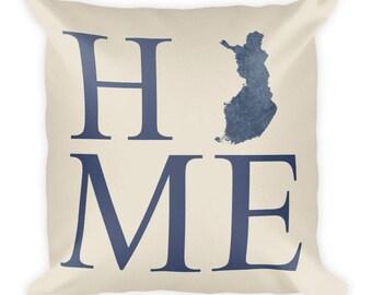 Finland Pillow, Finland Gifts, Finnish Decor, Finland Home, Finland Throw  Pillow,