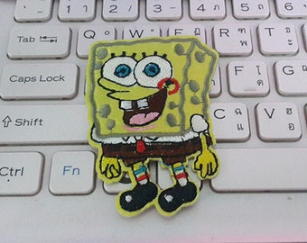 SpongeBob Applique Embroidered Iron on Patch