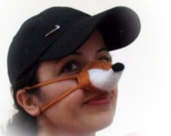 Fox Nose Warmer or arctic fox