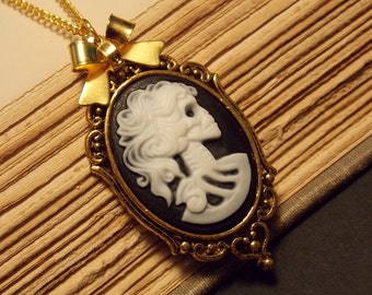 Day of the Dead Skeleton Necklace