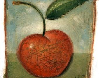 Cherry [original painting]