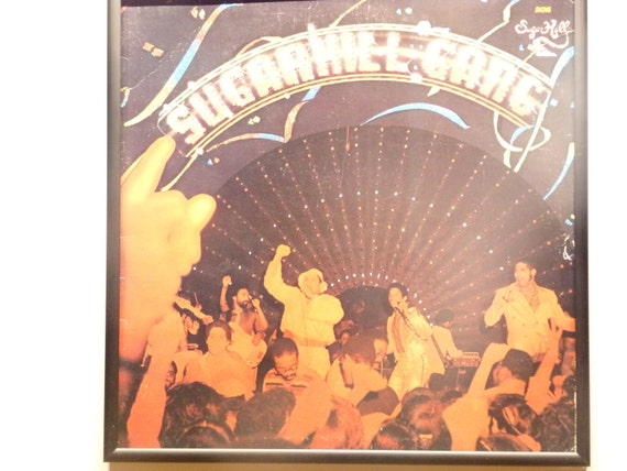 Glittered Record Album - Sugarhill Gang