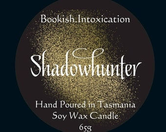 Shadowhunter Soy Wax Candle - Cassandra Clare inspired - The Mortal Instruments - The Infernal Devices