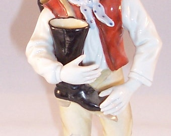 Porcelain Boy with Boot