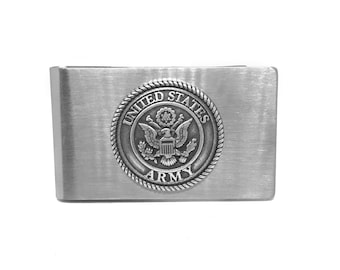 Army Money Clip – Metallic