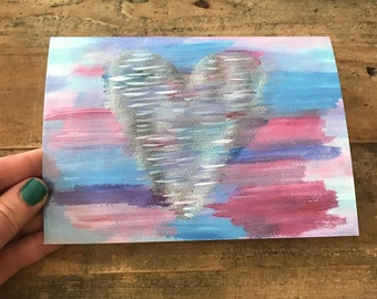 "Heartfelt 5""x7"" Greeting Card"