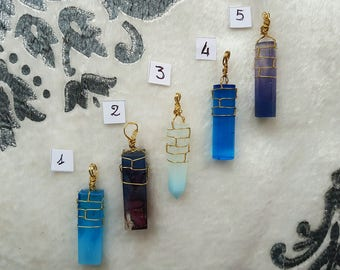 Resin Crystal Necklaces