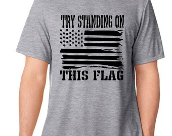 Supporter of the Flag Mens Shirt
