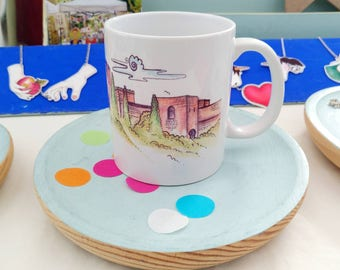Alhambra Granada ceramic mug