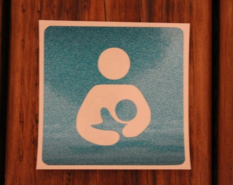 Normalize Breastfeeding Decal/natural/crunchy/breast