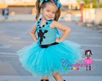 Power Puff  Bubbles  costume  sc 1 st  Etsy & Power Puff girls inspired costumes Blossom