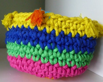 50 Yards of Cheerfulness Storage Basket